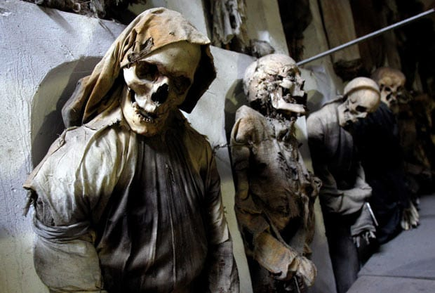 catacombs of capuchins