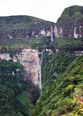catarata gocta air terjun kelima tertinggi di duniaa 831