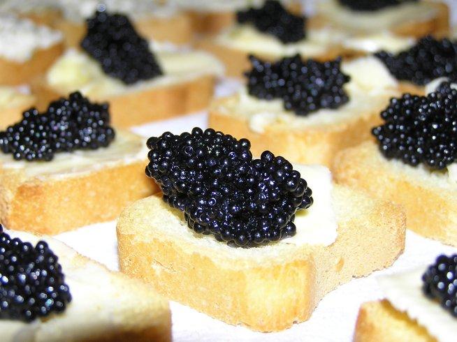 caviar makanan bangsawan