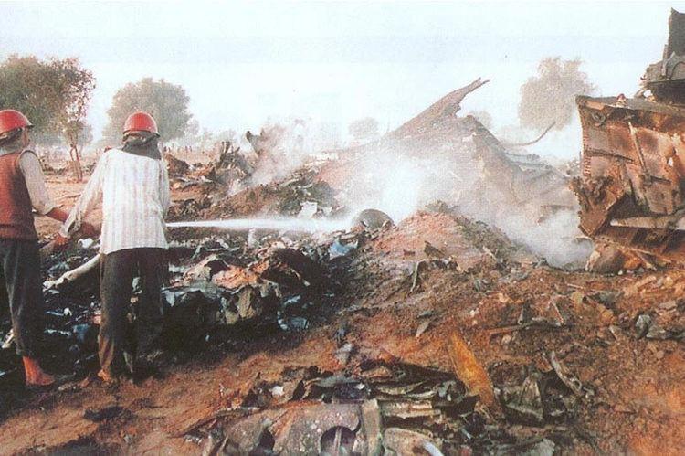 charkhi dadri pertembungan dua kapal terbang kemalangan udara