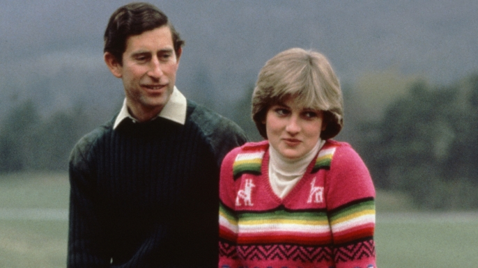 charles and diana meet the press at balmoral in may 1981 weeks before their wedding 114
