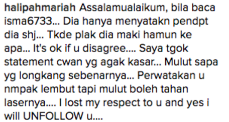 chef wan hentam komen pengikut di instagram 5
