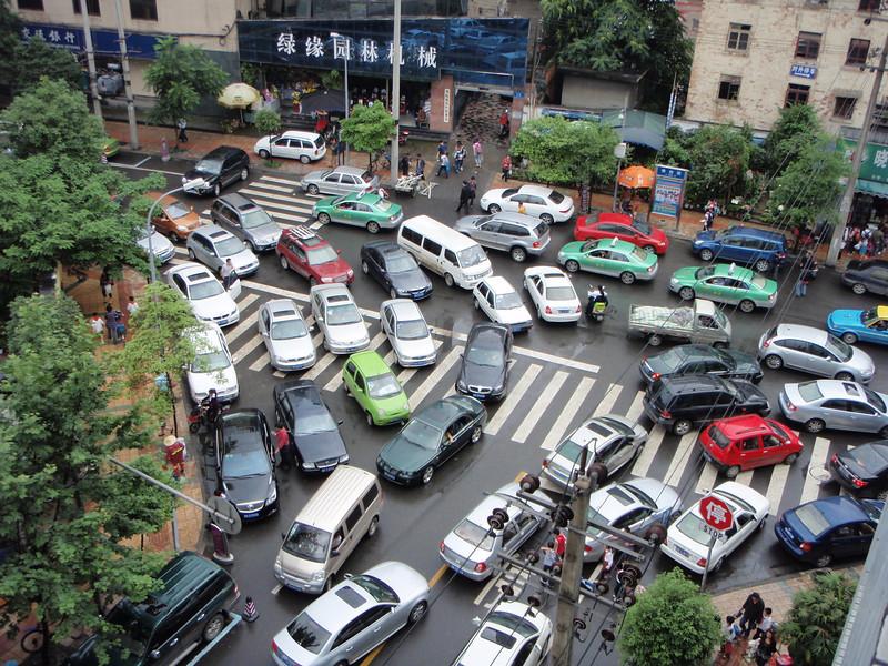 chengdu trafik sesak paling teruk dalam dunia
