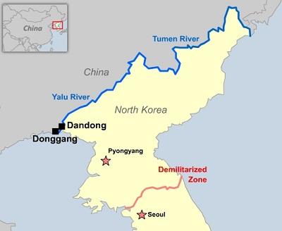 china dan korea utara sempadan negara paling bahaya di dunia