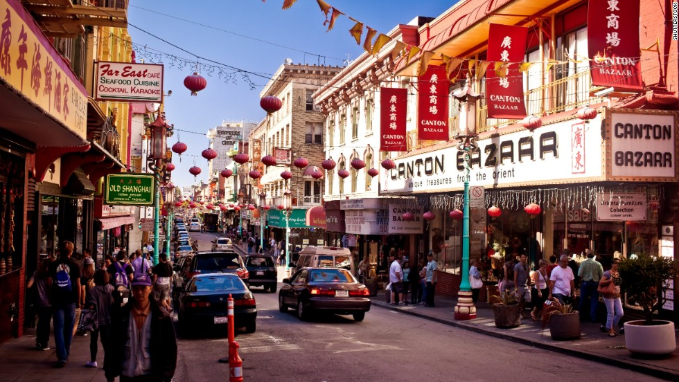 chinatown di san francisco california