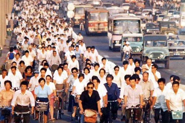 chinese bikes pekerja berbasikal