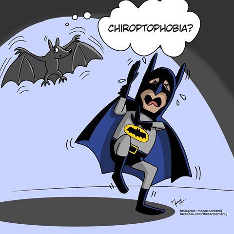 chiroptophobia chiroptofobia