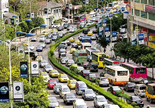 chongqing trafik sesak paling teruk dalam dunia