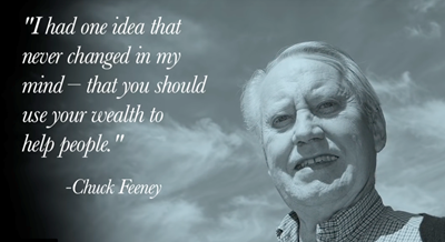 chuck feeney quote