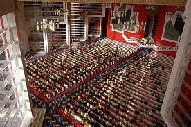 church of christ lego