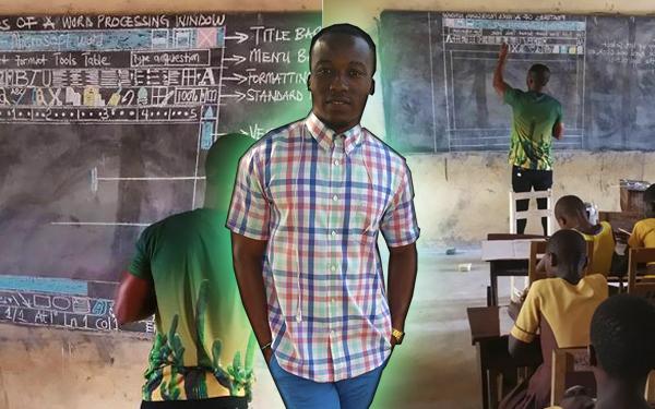 cikgu ghana owura kwadwo microsoft word pada papan hitam