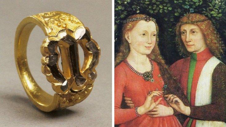 cincin maximilan i kepada mary of burgundy