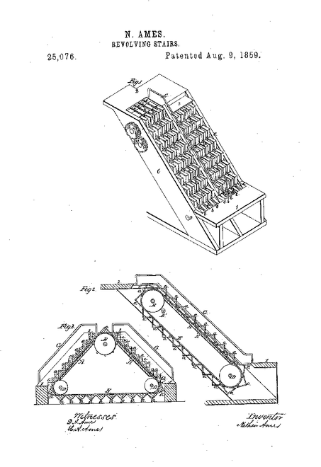ciptaan eskalator pertama 552