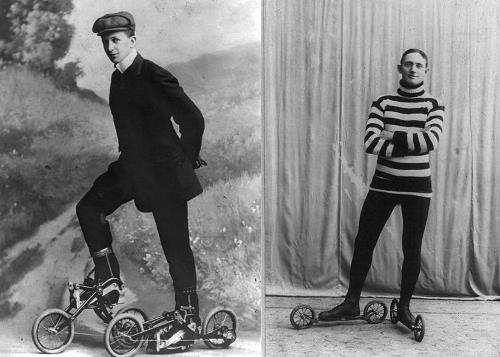 ciptaan kasut roda pertama merlin barang ini wujud lebih lama daripada yang kita sangka 4