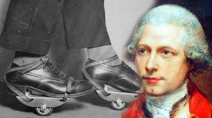 ciptaan kasut roda pertama merlin barang ini wujud lebih lama daripada yang kita sangka