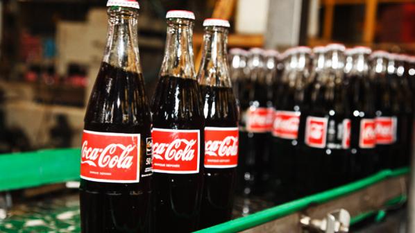 coke dalam botol