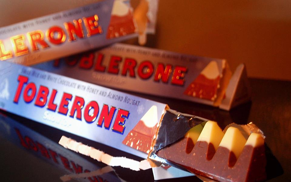 coklat toblerone