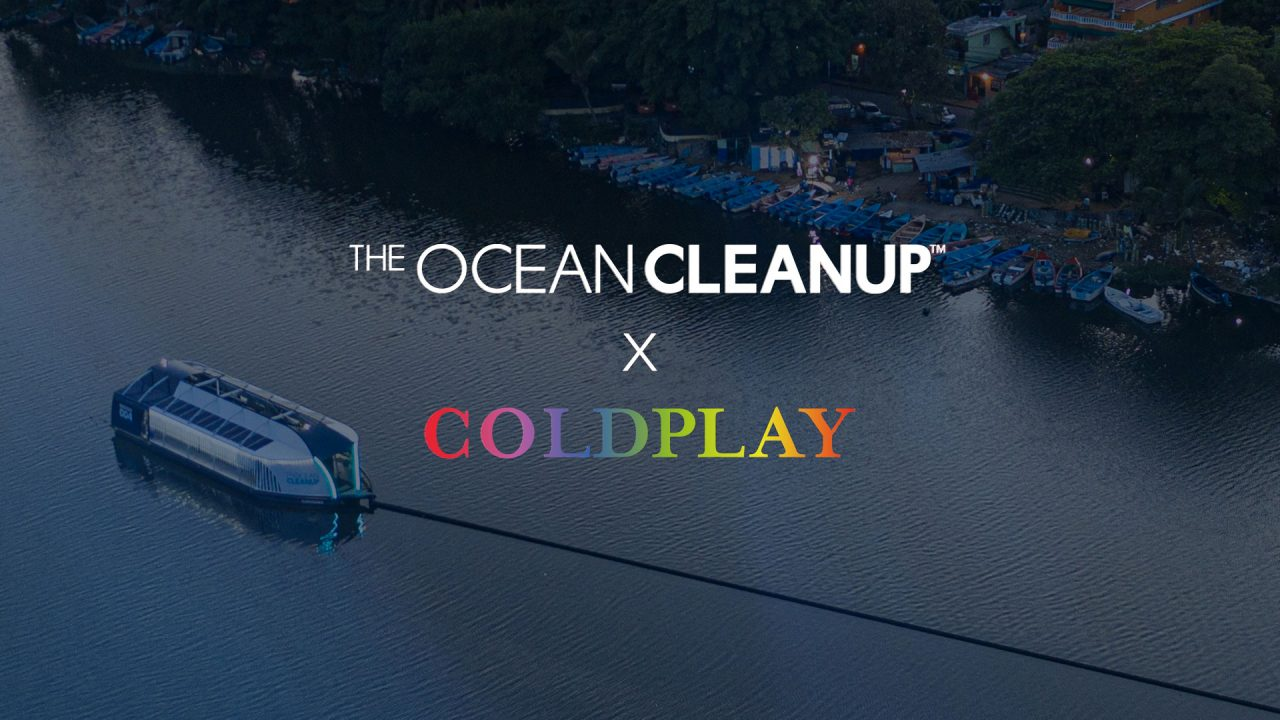 coldplay the ocean cleanup