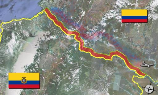 colombia dan ecuador sempadan negara paling bahaya di dunia