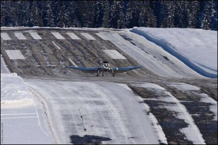 courchevel airport france 2