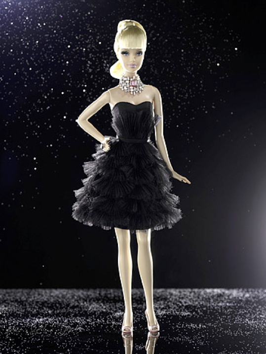cubism style barbie