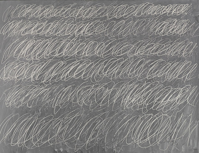 cy twombly untitled new york city 1968
