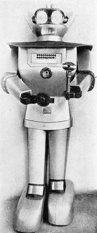 cygan robot pertama dicipta