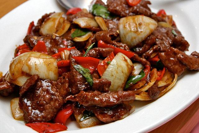 daging lada hitam lauk menu pantang