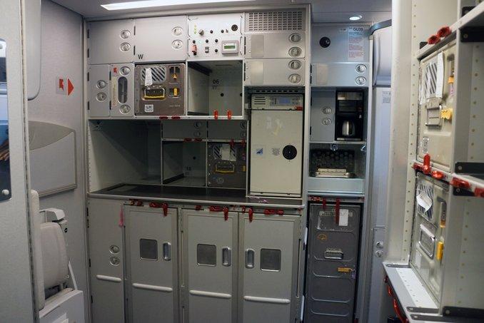 dapur kapal terbang