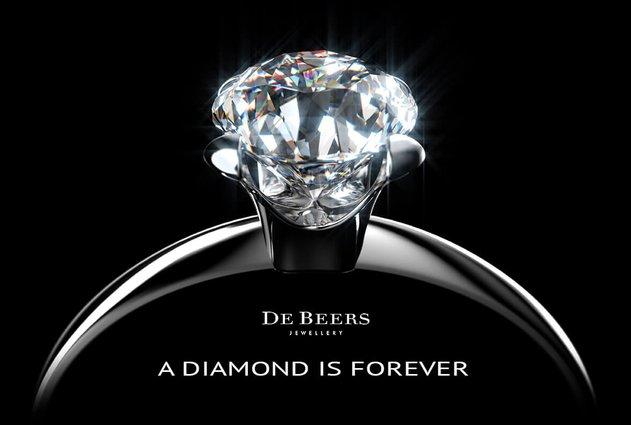 de beers diamond is forever