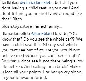 diana danielle mengamuk di instagram 2