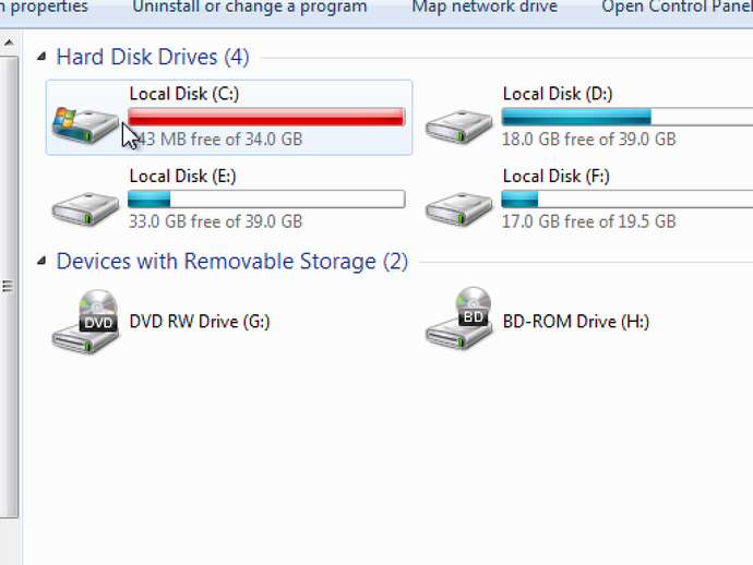 disk partition my computer