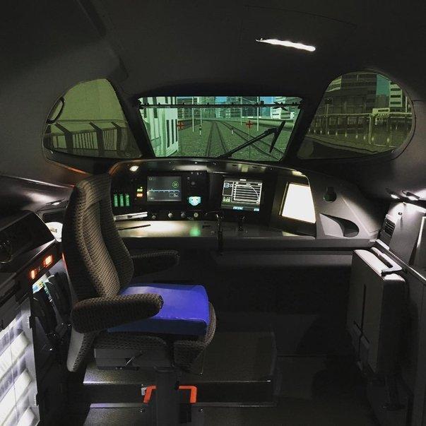 dock pilot kereta api bullet train shinkansen
