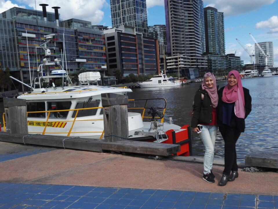 docklands itinerary melbourne