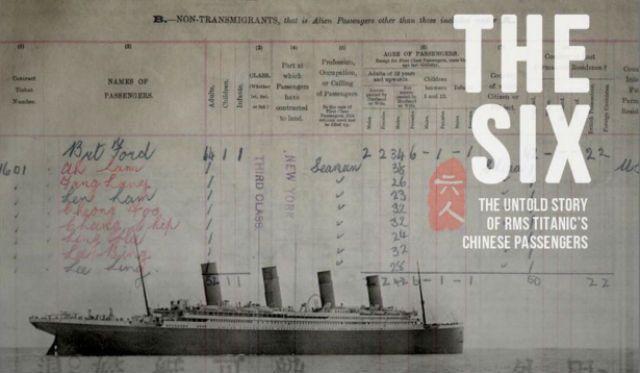dokumentari the six mengisahkan 6 orang cina yang terselamat dari tragedi titanic