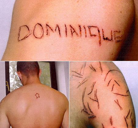dominique fisher tatu badan teman lelaki