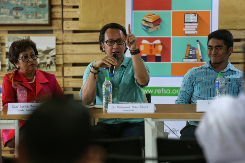 dr muhammed abdul khalid angkat jari power