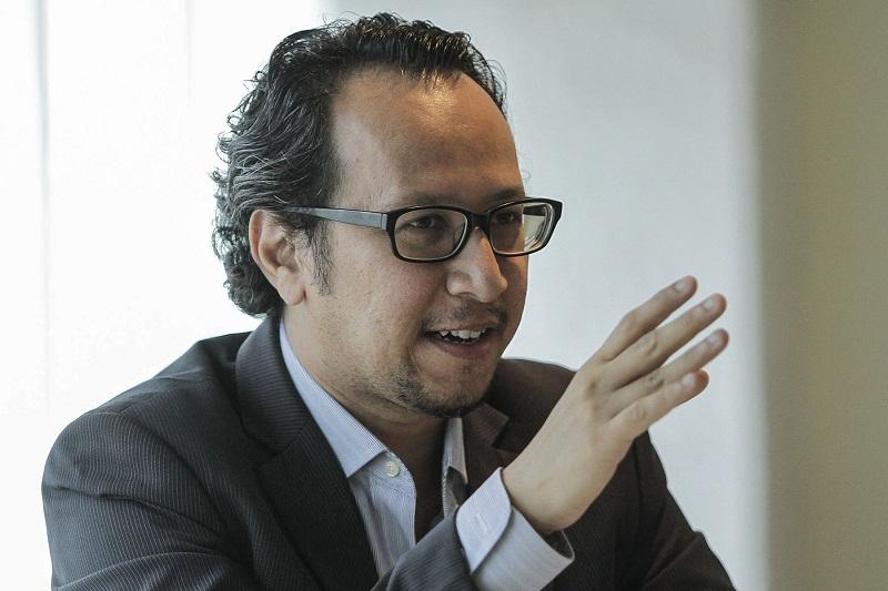 dr muhammed abdul khalid kelihatan tenang