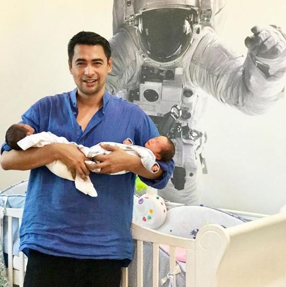 dr sheikh muszaphar terima anak kembar di hari lahirnya 2