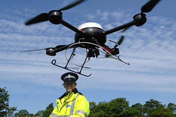 drone milik kerajaan