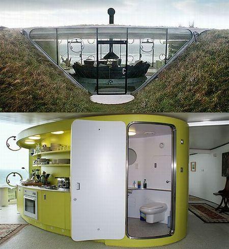 druidstone wales rumah bawah tanah