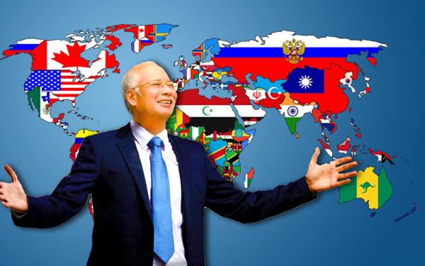 ds najib razak perdana menteri malaysia