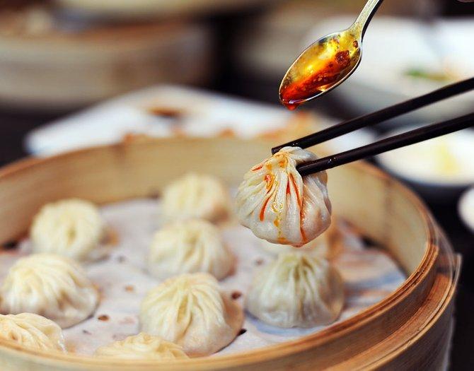 dumplings di shanghai