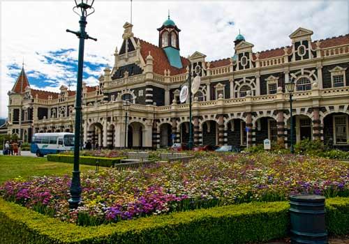 dunedin stesen kereta api paling cantik di dunia