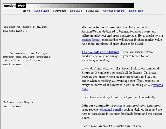 ebay sebelum ini dikenali sebagai auctionweb