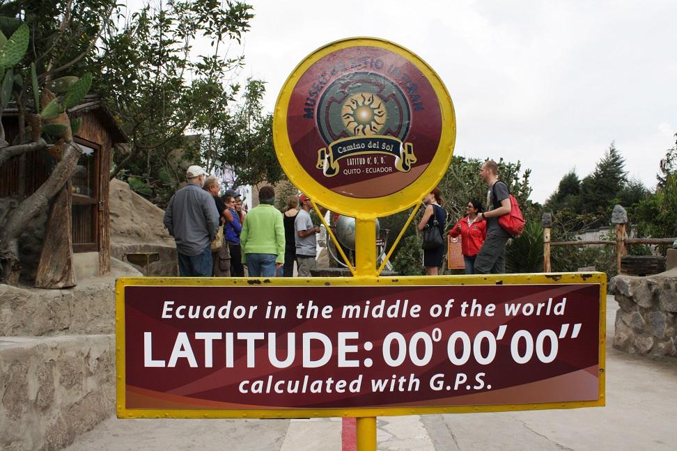 ecuador berada betul betul di atas garisan khatulistiwa
