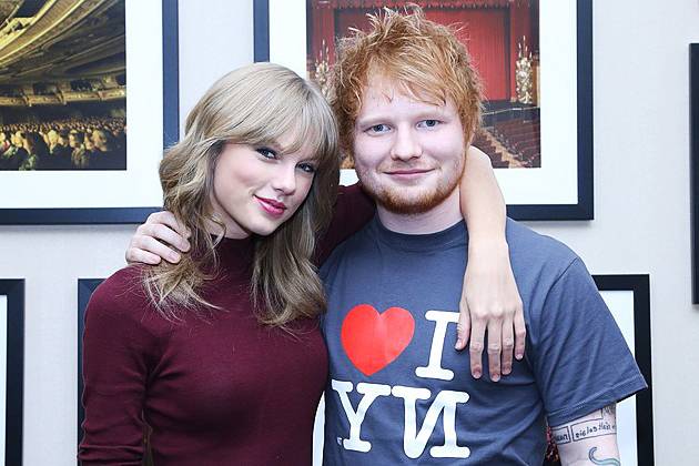 ed sheeran dan taylor swift