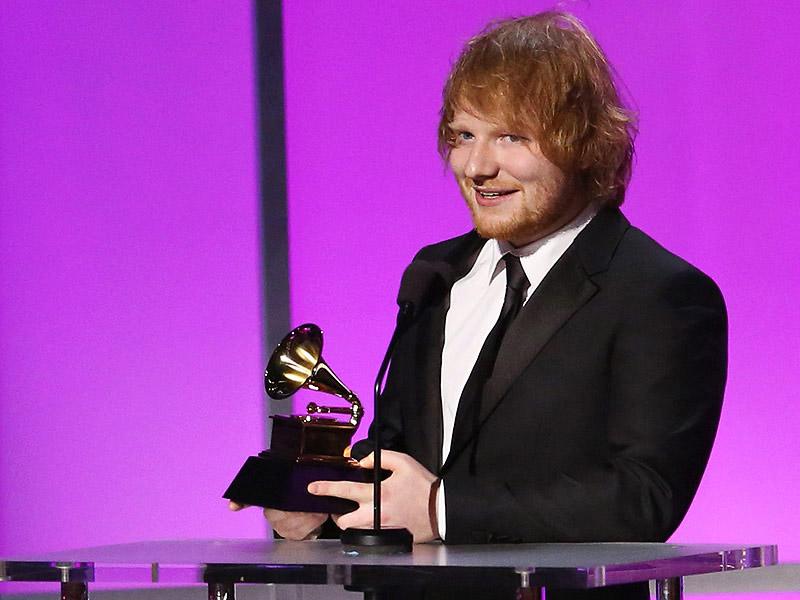 ed sheeran memenangi 2 anugerah grammy