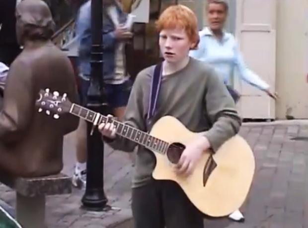 ed sheeran mengaku bahawa beliau seorang kanak kanak pelik