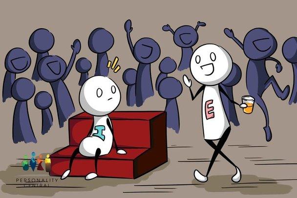 ekstrovert introvert mana satu yang lebih baik kajian psikologi
